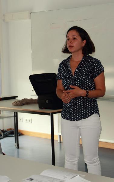 María del Mar Córdoba, durante su intervención